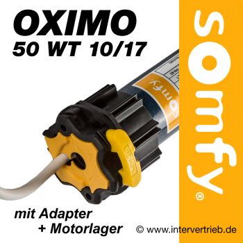 Rollladenmotor Somfy Oximo 50 WT 10 /17