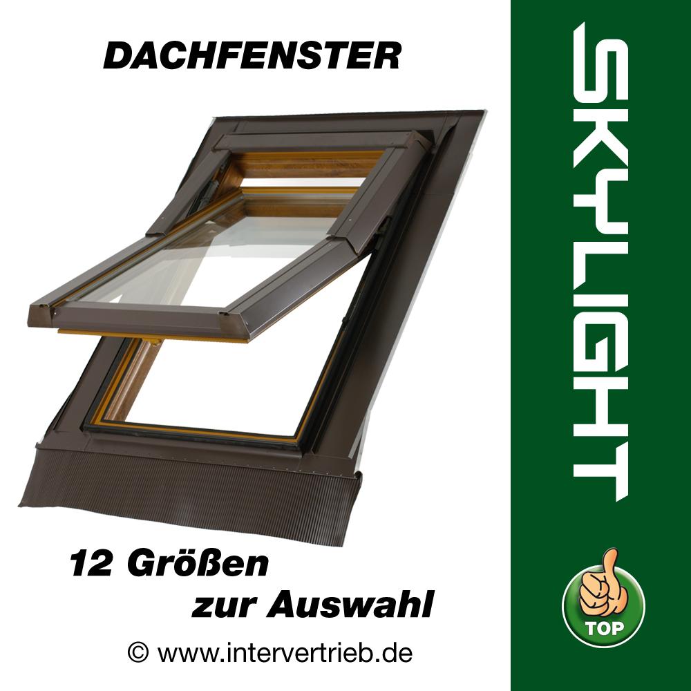 Dachfenster dachfl chenfenster dach fenster skylight kunststoff incl eindeckrahmen - Dachfenster skylight ...