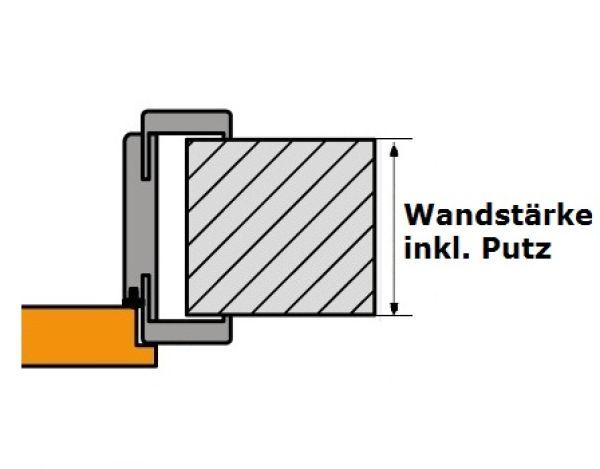 Verstellbare System Zarge Fur Falzturen In Cpl Furnier Atrium24 De