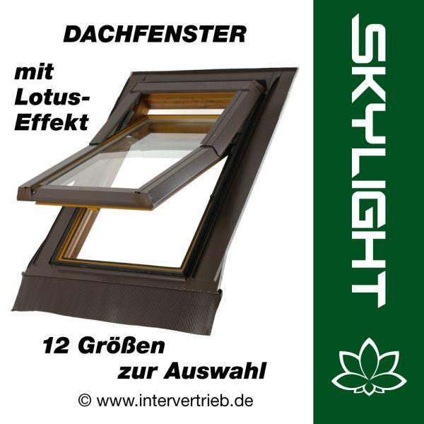 skylight lotus dachfenster dachfl chenfenster incl eindeckrahmen mit lotus effekt. Black Bedroom Furniture Sets. Home Design Ideas