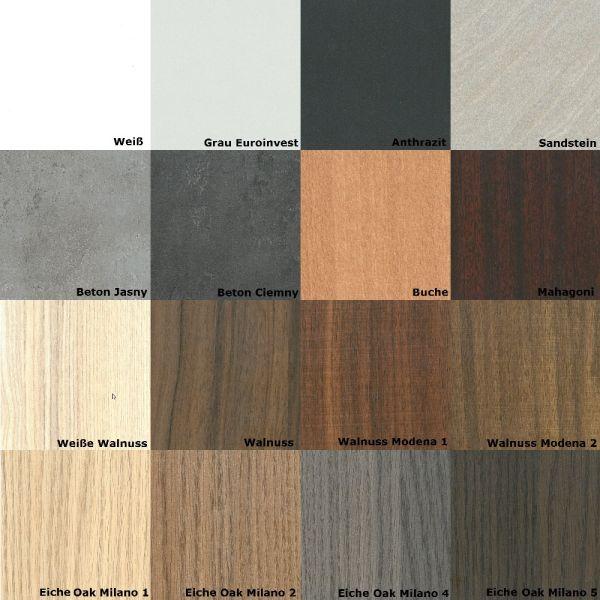 styl zimmert r mit schmalem glasausschnitt oder hdf verkleidung verschiedene cpl furnierfarben. Black Bedroom Furniture Sets. Home Design Ideas